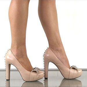 Vince Camuto Blush Jamma Studded Platform Heels